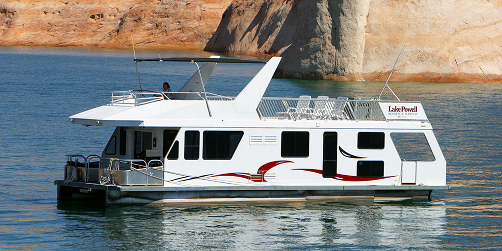 Deluxe Houseboat Rentals At Lake Powell Resorts Marinas In Az Ut