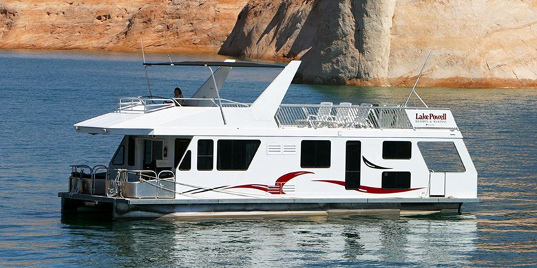 Deluxe Houseboat Rentals At Lake Powell Resorts Marinas In