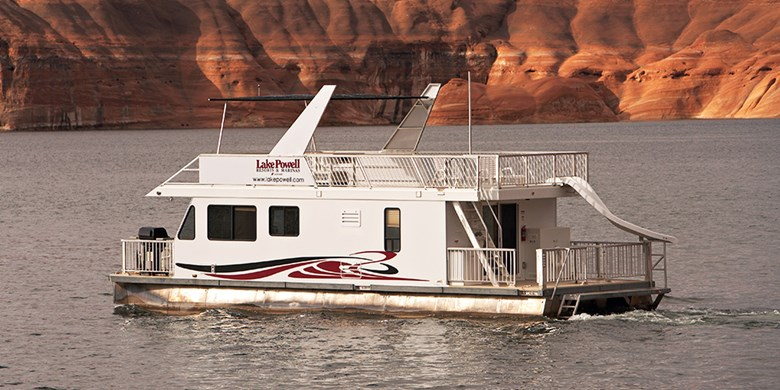 Economy Houseboat Rentals at Lake Powell Resorts & Marinas