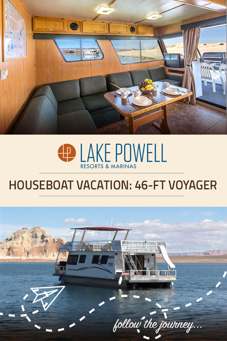 The Voyager Economy Houseboat Available For Rent At Lake Powell In