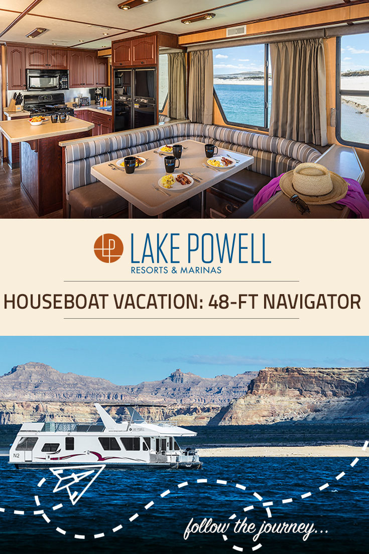 The Navigator Deluxe Houseboat Available For Rent At