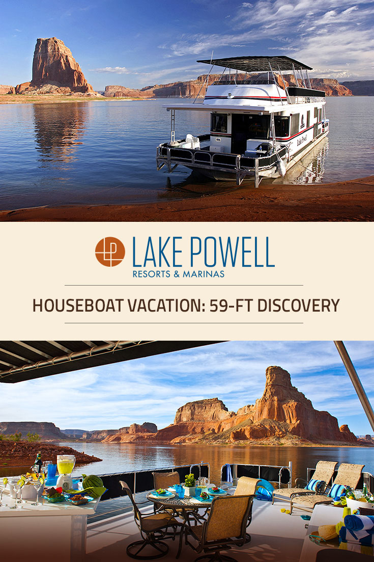 Discovery Xl Deluxe Houseboat Available For Rent At Lake