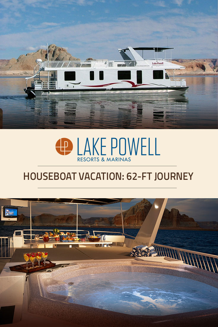 Journey luxury houseboat rental lake powell resorts for Powell house