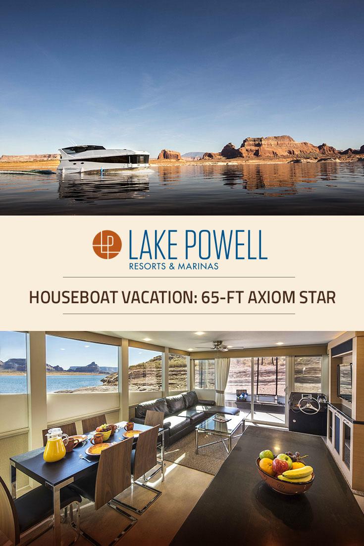 Axiom Star Luxury Houseboat Rental Lake Powell Resorts Amp Marinas Wahweap Marina Az