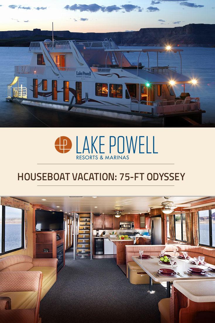 Houseboat Images Odyssey Luxury Houseboat Rental Lake Powell Resorts Marinas