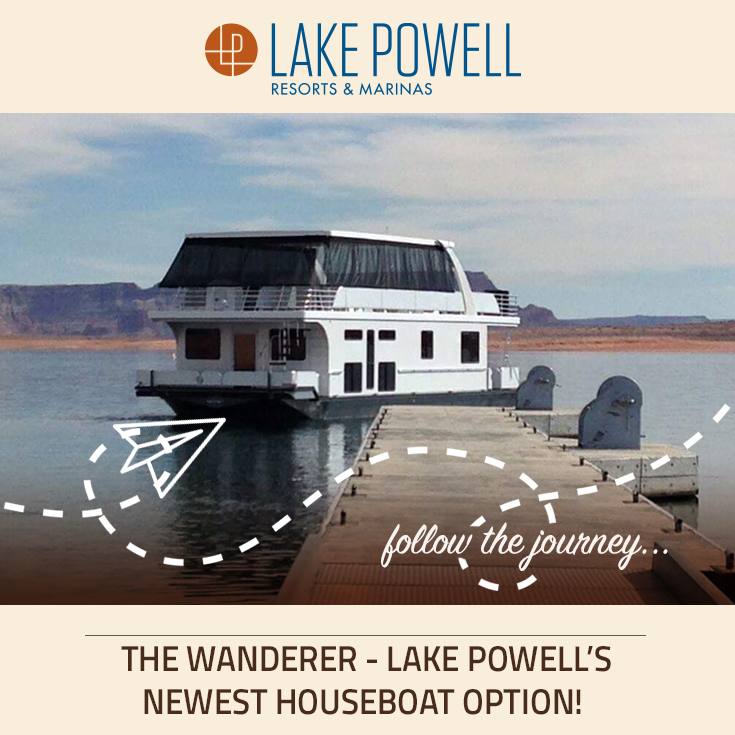 Wanderer Houseboat Available For Rent At Lake Powell In