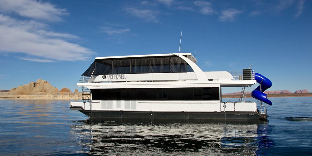 Location de péniches de luxe dans les complexes et marinas du lac Powell USA