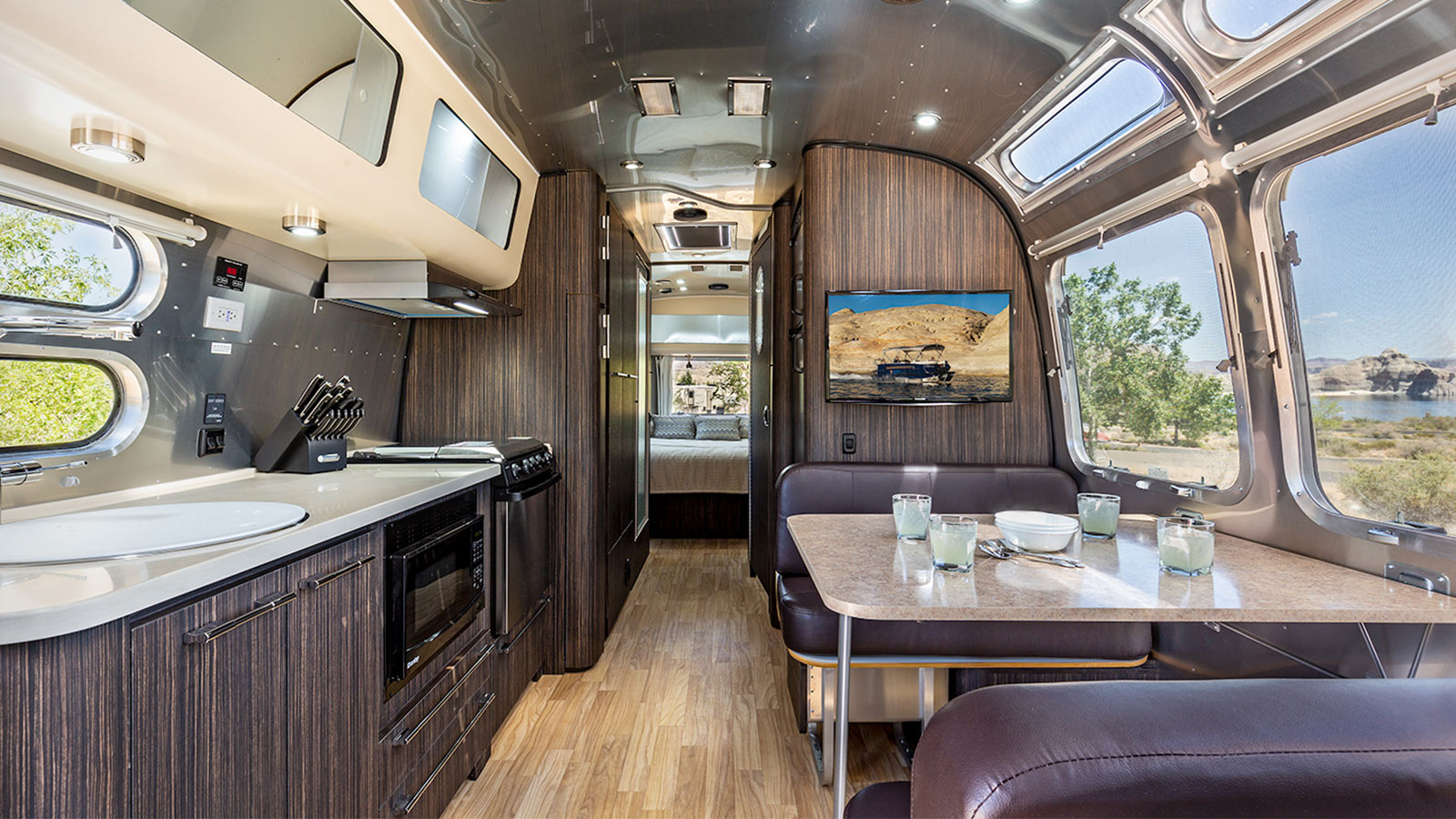Airstream Interior - Kitchen & Dining