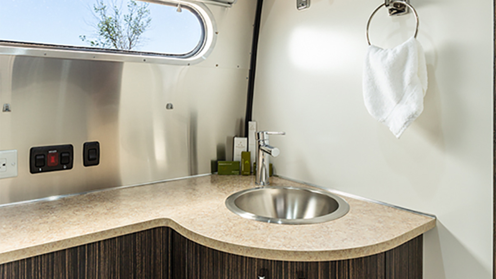 Airstream Interior - Bathroom