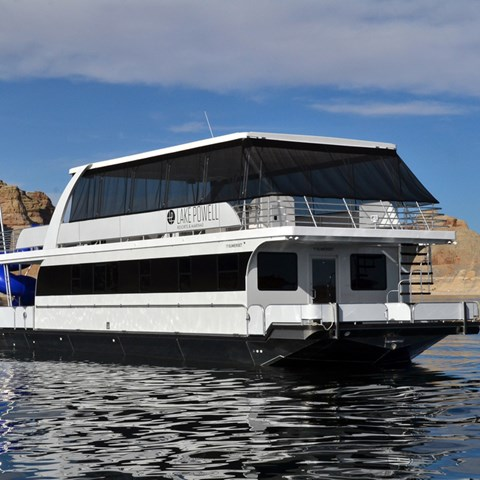 Brand New 59 ft Houseboat in the Fleet